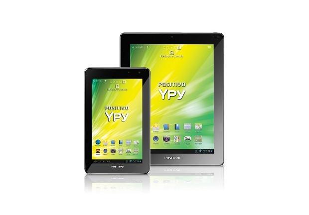 Tablets Positivo têm especificações bem semelhantes (Foto: Divulgação)