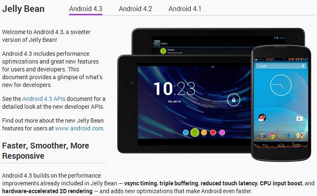 Novo Android é mais rápido, suave e com melhor resposta (Foto: Divulgação)