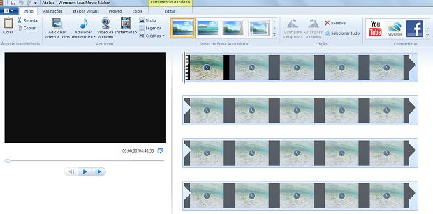 diminuir qualidade de video