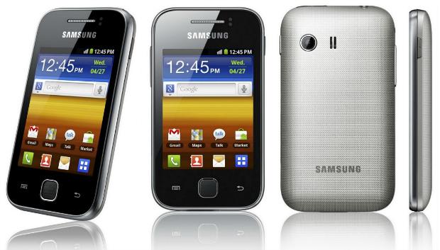 Galaxy Y é o primeiro modelo da série econômica da Samsung (Foto: Divulgação)