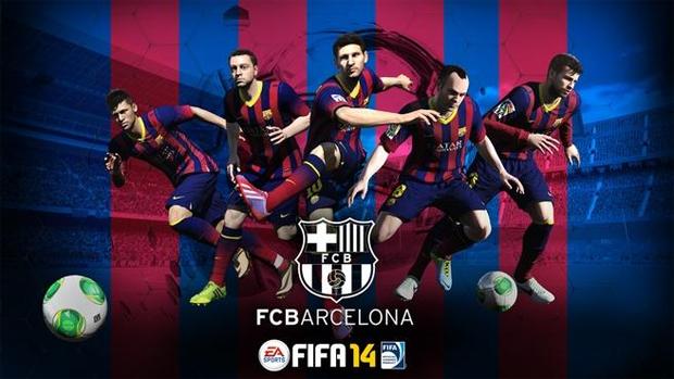 Barcelona é parceiro oficial de Fifa 14 (Foto  Divulgação) (Foto  Barcelona 0f2d8b827f9e5