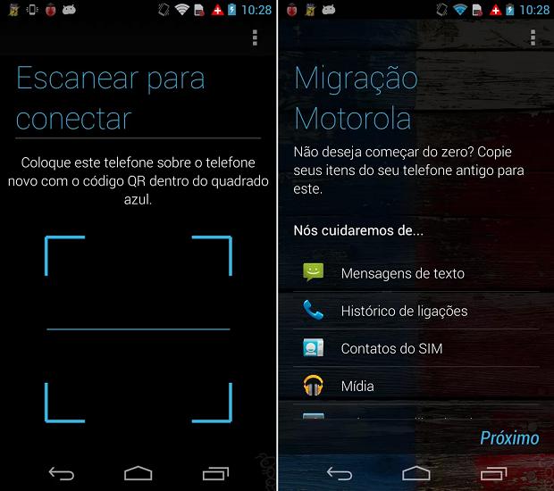 Migrate é compatível com Android 2.2 ou superior (Foto: Divulgação)