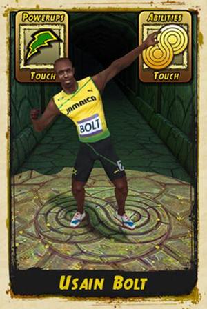 Usain Bolt participa de Temple Run 2 (Foto: Divulgação)