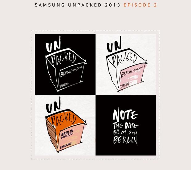 Samsung enviou convite para lançamento do Note (Foto: Reprodução/CNET)