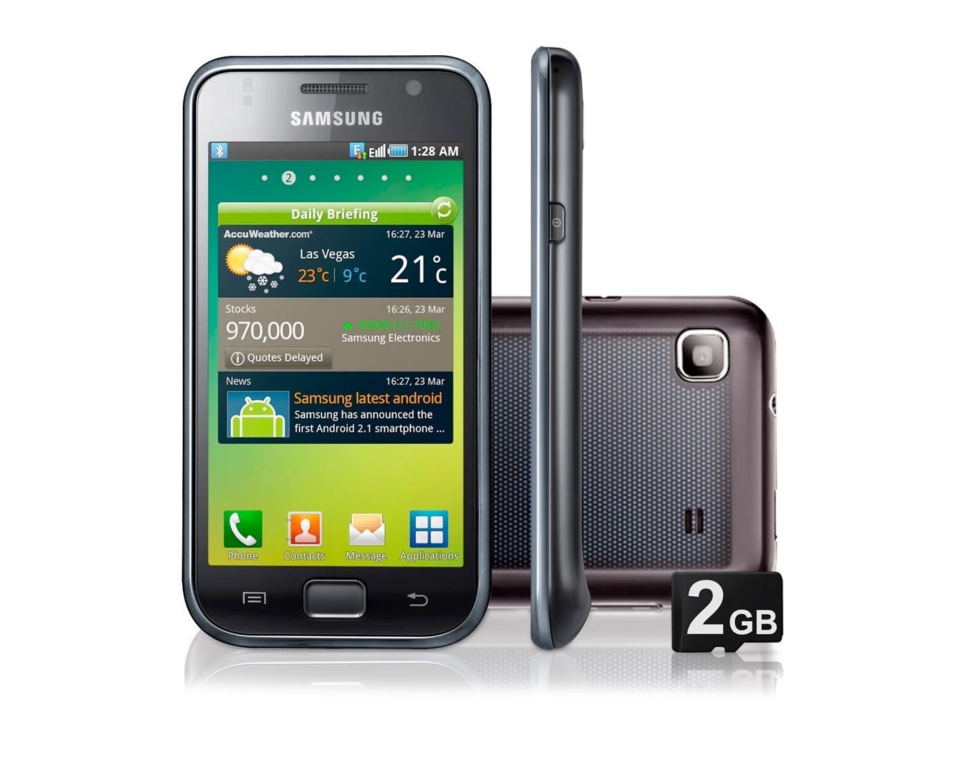 Galaxy S, o top de linha