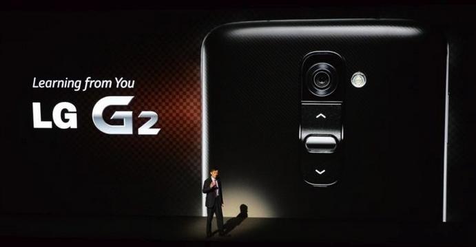 LG G2: novo top de linha da LG promete incomodar o Galaxy S4 (Foto: Divulgação)