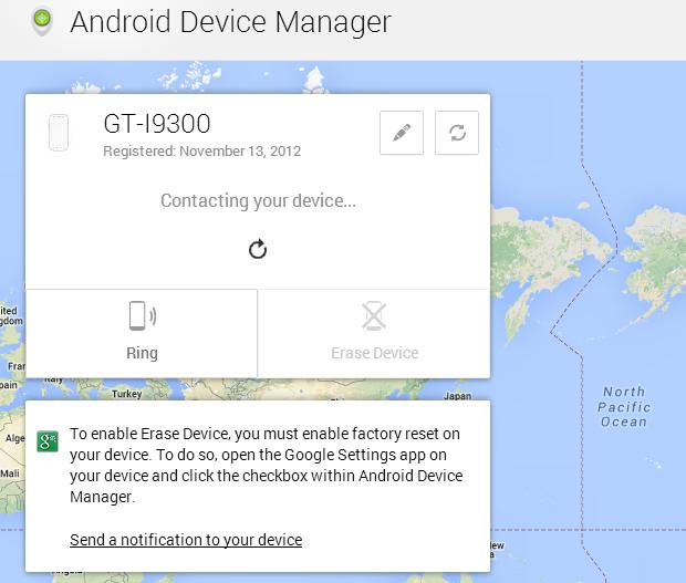 Etapa 1: proteger seu smartphone, tablet ou Chromebook perdido