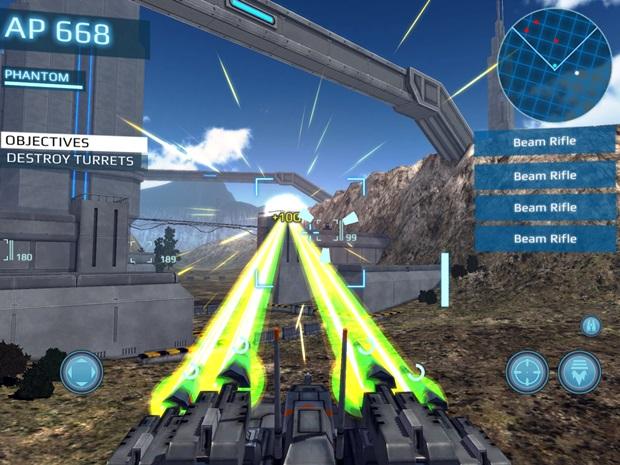 MetalWar3 é um jogo futurista com batalhas entre robôs (Foto: Divulgação)