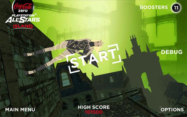 Gravity Rush, do PS Vita, também está presente (Foto: Divulgação)