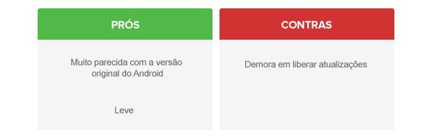 Prós e contras do Android personalizado pela Motorola (Foto: Arte/TechTudo)
