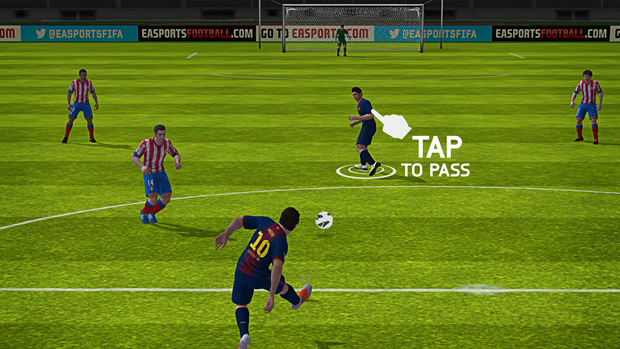 Fifa 14 chegará com controles diferenciados para Android e iOS. (Foto   Divulgação) da476f6382437