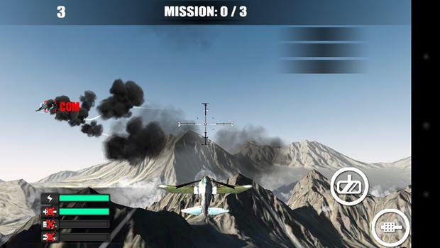 Game de combate entre aviões sem radares e outras facilidades (Foto: Reprodução / Dario Coutinho) (Foto: Game de combate entre aviões sem radares e outras facilidades (Foto: Reprodução / Dario Coutinho))