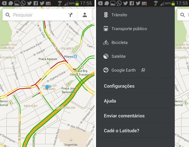 Maps é um app cuja navegação é o principal atrativo (Foto: Reprodução/Thiago Barros)