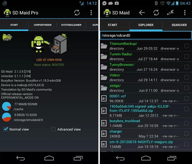 SD Mai é um aplicativo de otimização de desempenho (Foto: Divulgação)