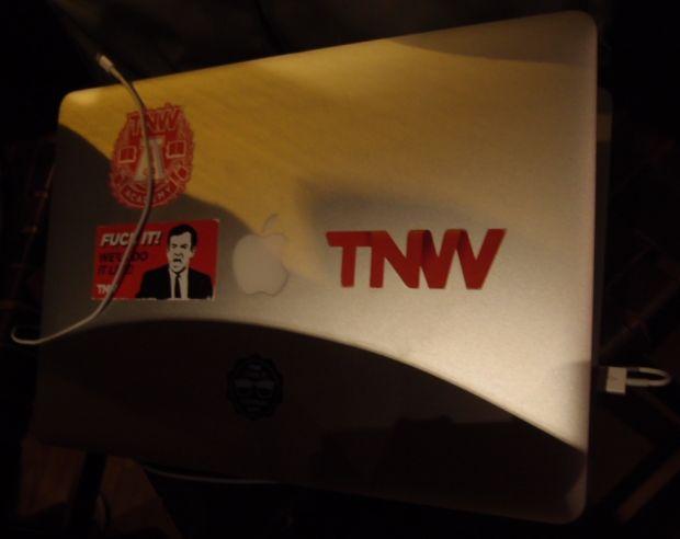 O computador de Boris Veldhuijzen van Zanten, criador do TNW (Foto: Pedro Zambarda/TechTudo)