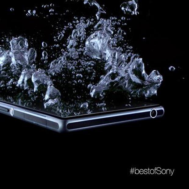 Novo smartphone da Sony sera a prova d'água (foto: Divulgação)