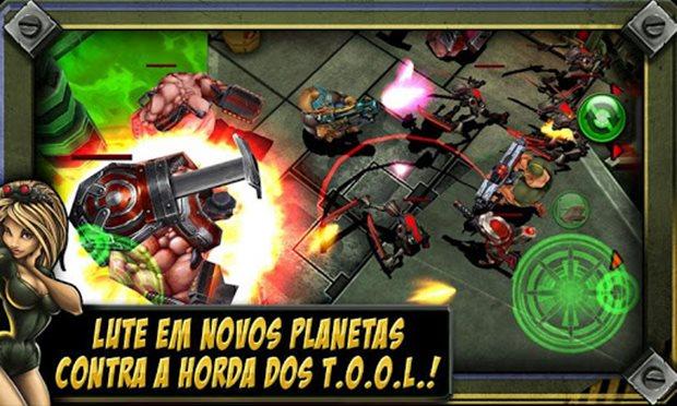 Gun Bros 2 é divertido e dá para chamar os amigos para jogar através do Facebook (Foto: Divulgação)