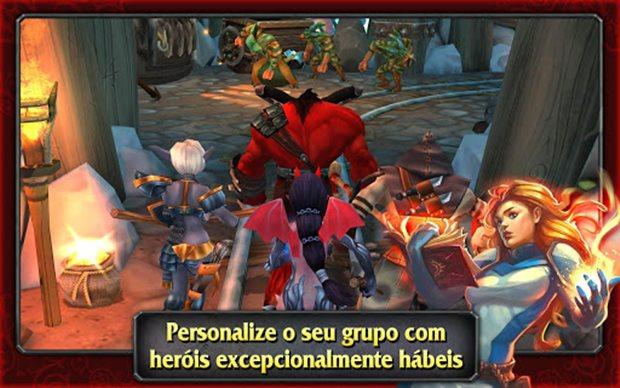 Heroes of Destiny é um RPG com gráficos incríveis (Foto: Divulgação)
