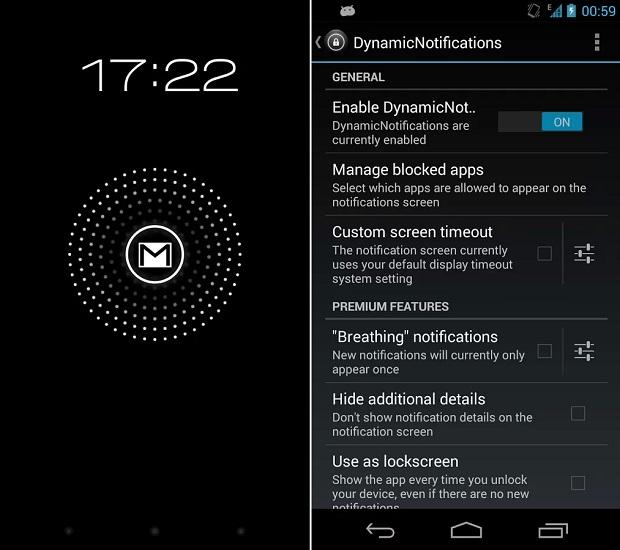 App leva notificações para a lockscreen (Foto: Divulgação)