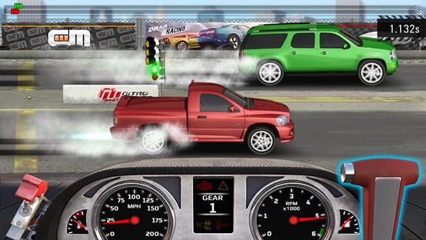 Drag Racing 4x4 traz corridas com Pick-ups e SUV em rachas incríveis (Foto: Divulgação)