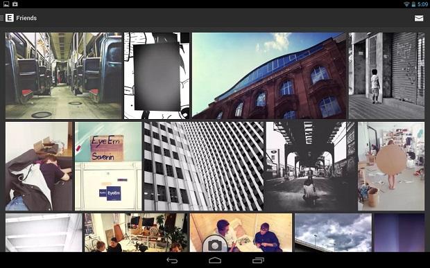 Edição e compartilhamento de fotos são atrações do EyeEm (Foto: Divulgação)