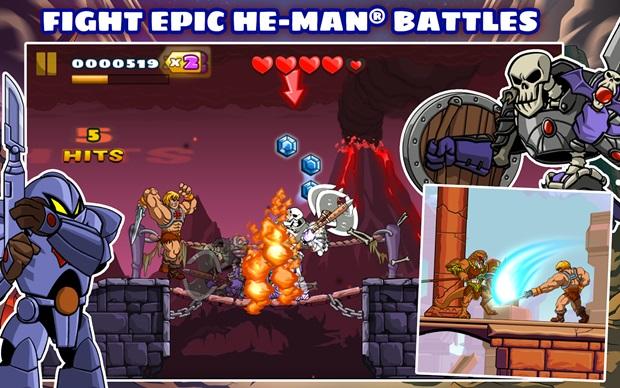 Android agora tem a força com He-man e seus amigos (Foto: Divulgação)