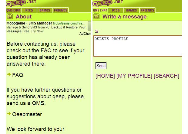 Buscar chat qeep login