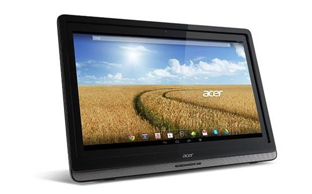 Novo dispositivo all-in-one da Acer vem equipado com Android 4.2 Jelly Bean e poderá ser usado como monitor (Foto: Divulgação)