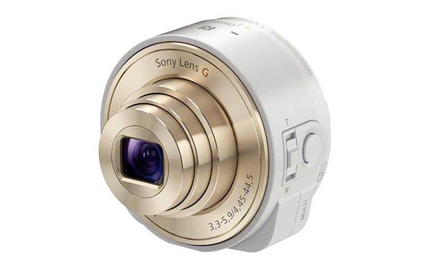 Lentes da Sony devem chegar nas cores dourada e branco para o novo iPhone 5S (Foto: Reprodução/Sony Alpha Rumors)