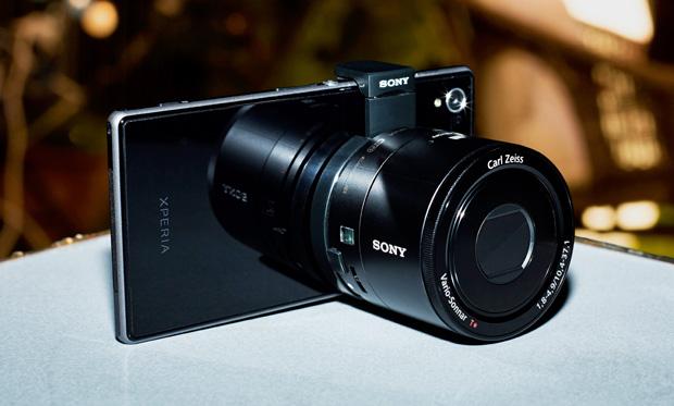 Xperia Z1 com o QX100, na lente profissional da Sony para smartphones (Foto: Divulgação)