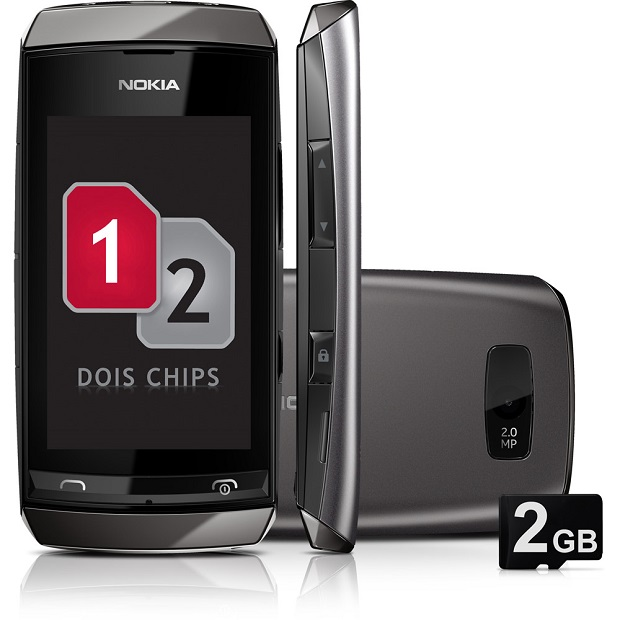 Asha 305 é barato, tem visual atraente e possui dual chip (Foto: Divulgação)