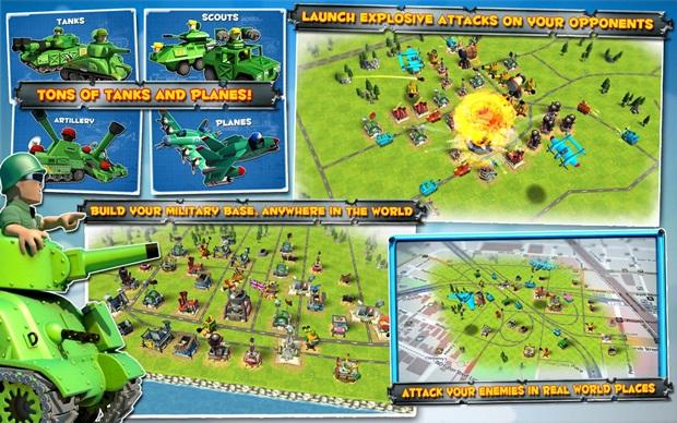 Friendly Fire utiliza GPS para gerar mapas que são utilizados pelos veículos no jogo (Foto: Divulgação)