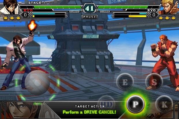 Novo King of Fighters para Android tem muitos lutadores e jogabilidade igual ao dos consoles (Foto: Divulgação)