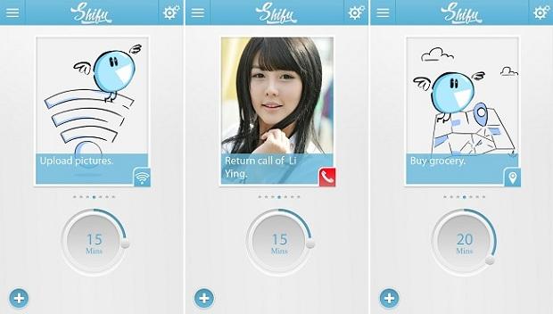 Shifu é um app de lembretes (Foto: Divulgação)