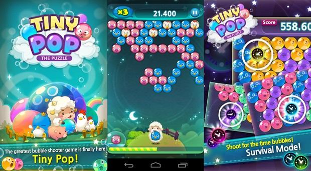 Tiny Pop é um sucessor, mais fofinho ainda, de Puzzle Bobble (Foto: Divulgação)