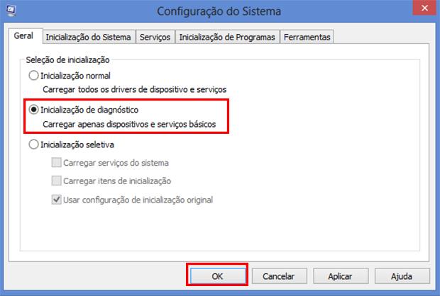 A inicialização de diagnóstico pode consertar sua porta USB também (Foto: Reprodução/Paulo Alves)