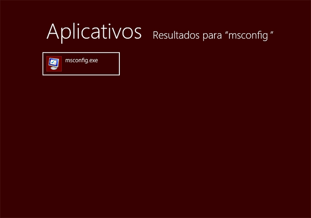 Digite msconfig no menu Iniciar (Foto: Reprodução/Paulo Alves)