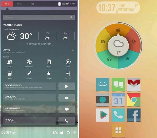 Buzz Launcher é um aplicativo launcher para Android (Foto: Reprodução)