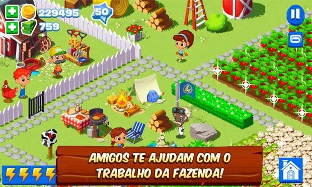 Green Farm 3 é o jogo do momento para quem gosta de Fazendinhas (Foto: Divulgação)