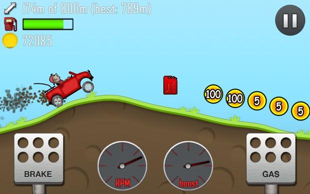 Hill Climb Racing é o sétimo jogo mais baixado do Android (Foto: Divulgação)