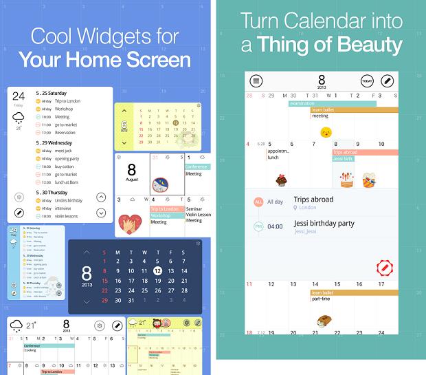 SolCalendar oferece um calendário para seu Android (Foto: Reprodução)