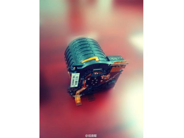 O sensor composto de 6 lentes do Oppo N1 (Foto: Divulgação)