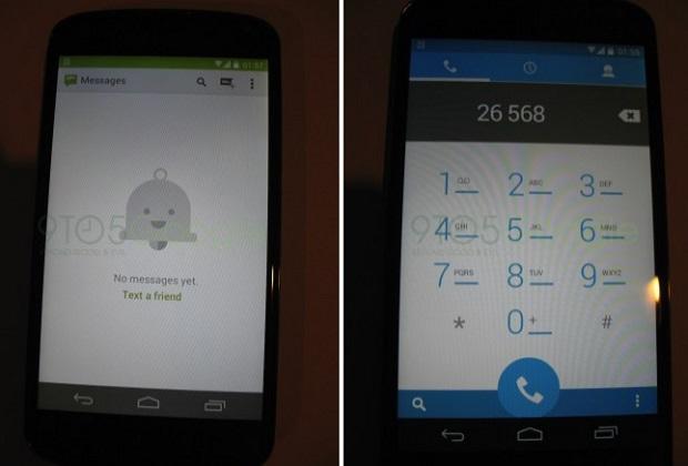 Android 4.4 pode ter novo visual, como indicam os novos ícones e cores (Foto: Reprodução/9To5Google)