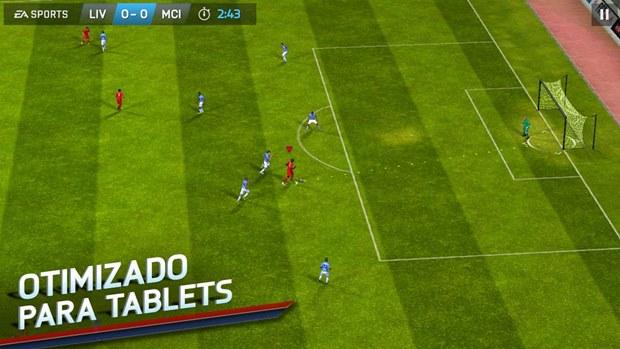 FIFA 14 está disponível em português e é gratuito (Foto: Divulgação)