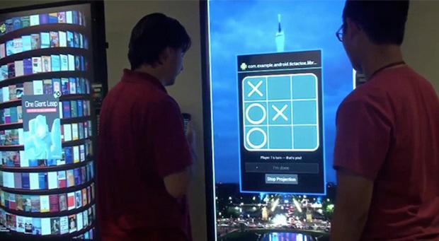 Projeto da Google permitirá espelhar tela do Android em qualquer tela conectada à internet (Foto: Reprodução/Engadget)