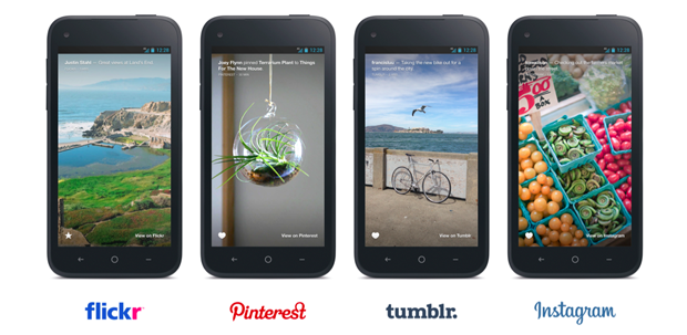 Conteúdos do Flickr, Pinterest, Tumblr e Instagram só poderão ser visualizados por beta testers cadastrados no Facebook (Foto: Divulgação)