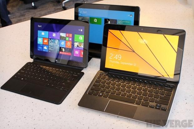 Linha de tablets da Dell vem com versão para Android ou Windows 8 a preço popular (Foto: Reprodução/The Verge)