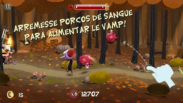 Em Le Vamp, o objetivo é fugir da multidão enfurecida (Foto: Divulgação)