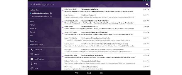 Boomerang Email é um cliente do Gmail para Android (Foto: Divulgação)