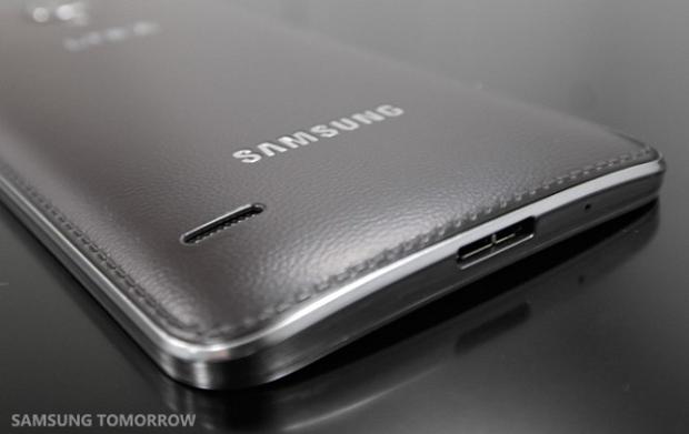 Round tem traseira igual ao Note 3 (Foto: Reprodução/Samsung Tomorrow)